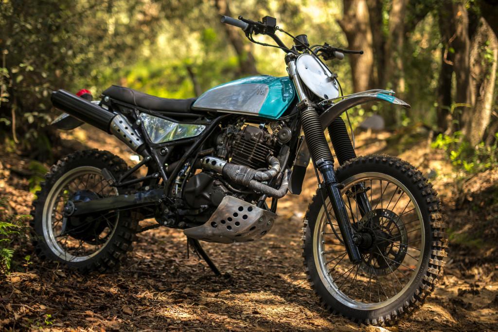 Suzuki DR600 Scrambler