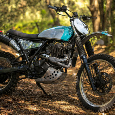 Suzuki DR600 Scrambler by Vintage Addiction