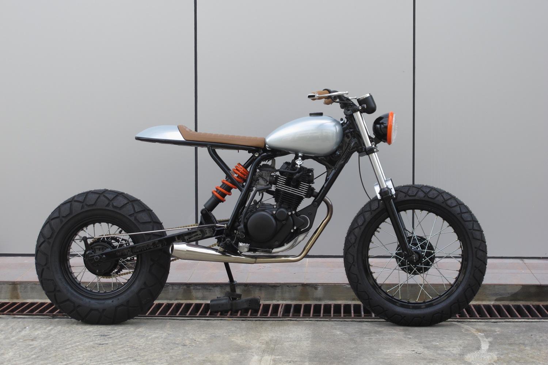 Yamaha Tw200 Scrambler By Sean Speedshop Bikebound