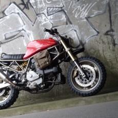 Ducati 750SS Scrambler by Vonsmotz