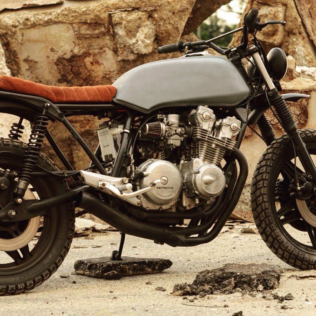 Honda Cb900f Bol D Or Scrambler By Vonsmotz Bikebound