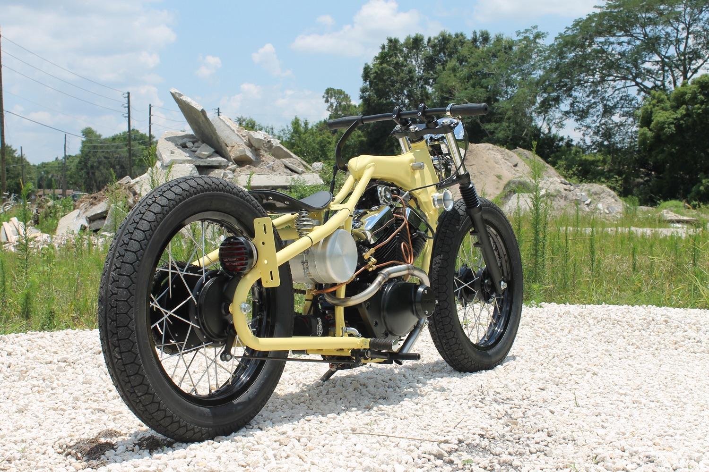 Yamaha XV250 Beach Bobber BikeBound