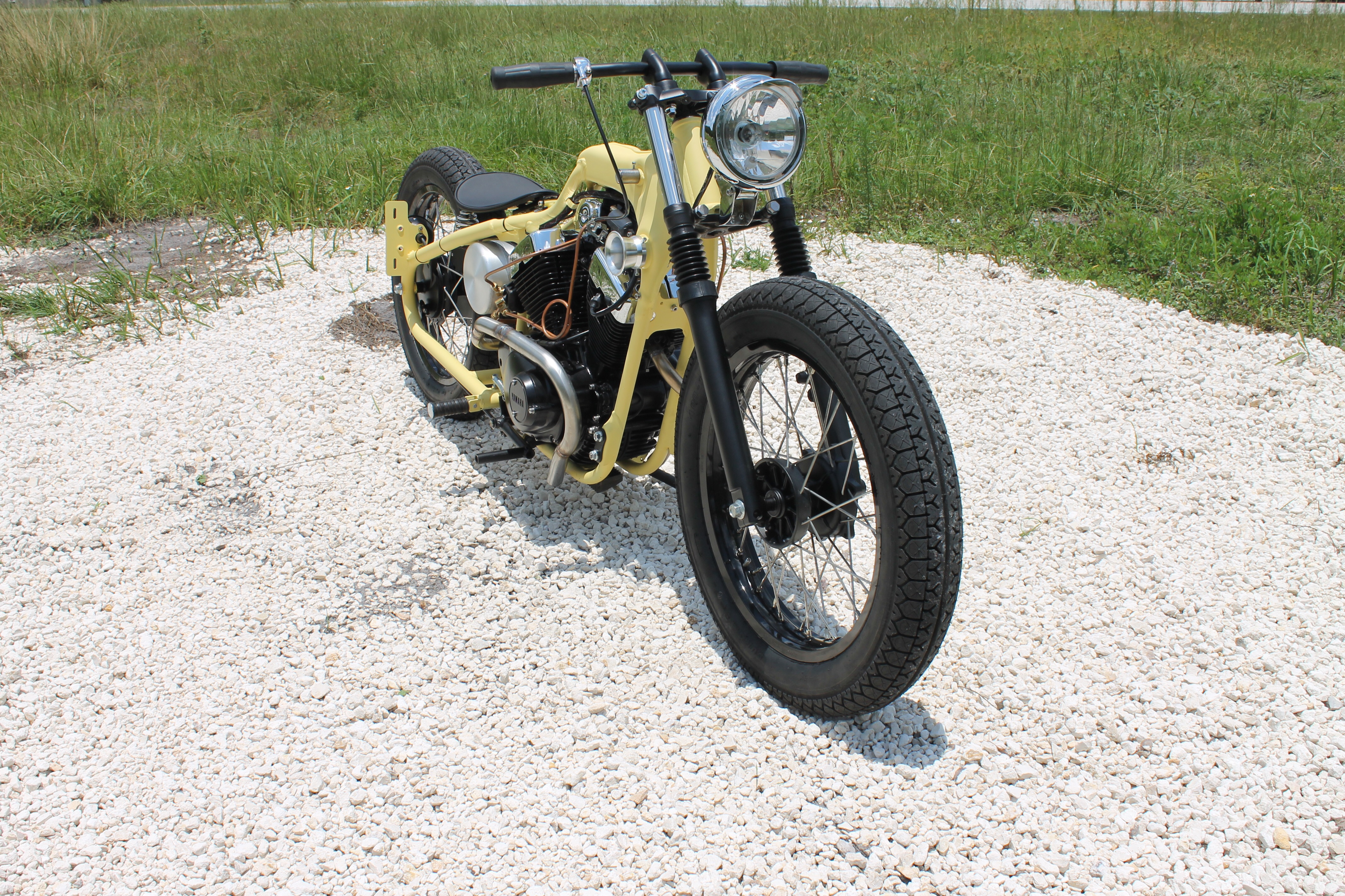 Yamaha xv250 beach bobber bikebound for Yamaha virago 250