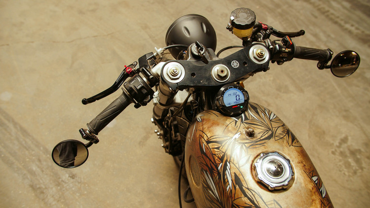 Yamaha XV750 Cafe Racer 6