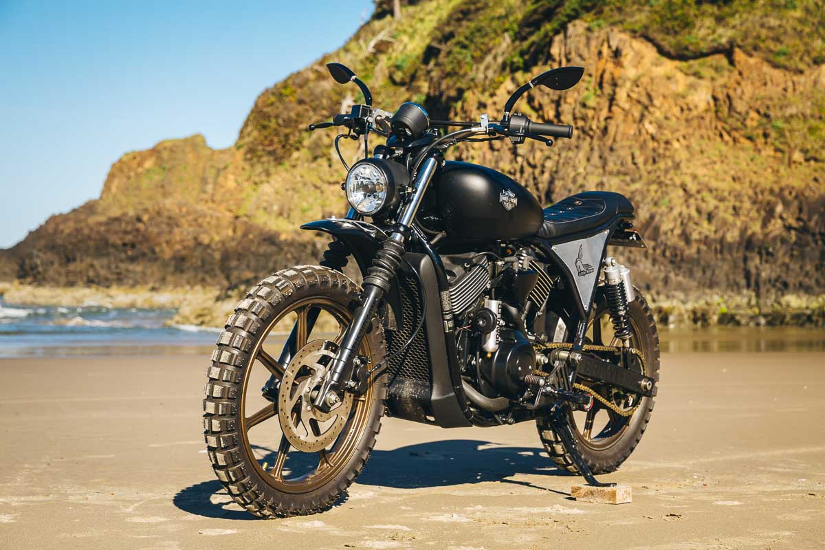 Harley Street Scrambler by Little Horse Cycles – BikeBound on