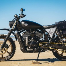 Harley Street Scrambler by Little Horse Cycles