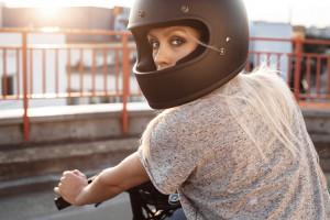 Full Face Cafe Racer Helmet