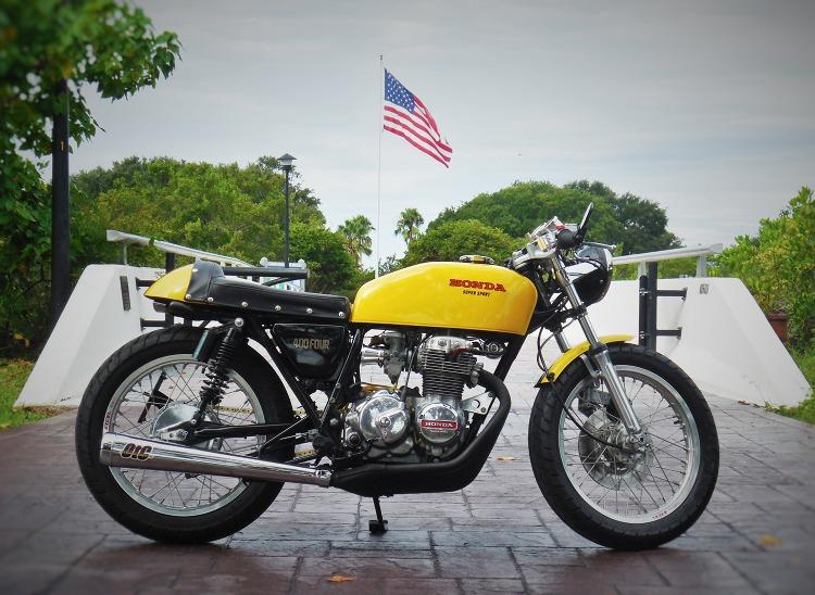 honda cb400f cafe racerotc custom – bikebound