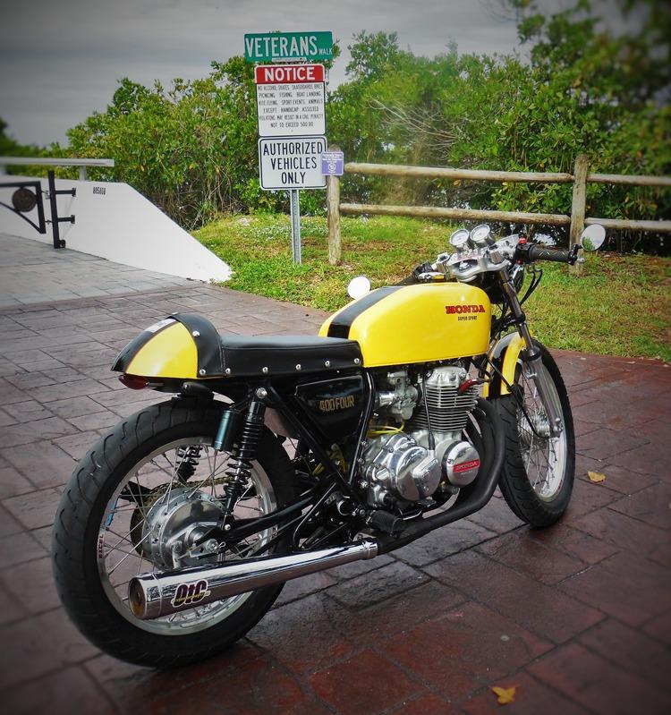 Honda CB400F Cafe Racer by OtC Custom – BikeBound