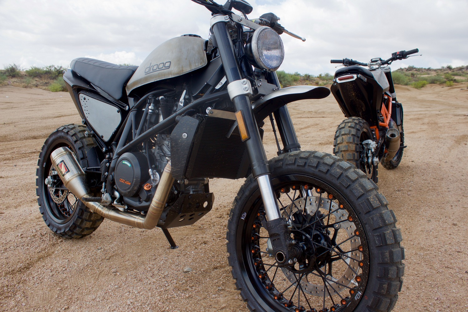 Duke Twins In The Builders Words KTM Scrambler