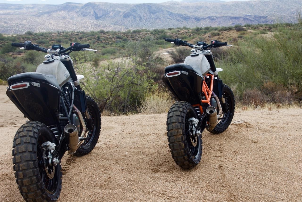 Ktm >> KTM 690 Duke Scramblers by Droog Moto Concepts – BikeBound