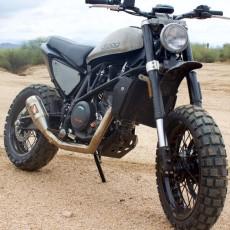 KTM 690 Duke Scramblers by Droog Moto Concepts