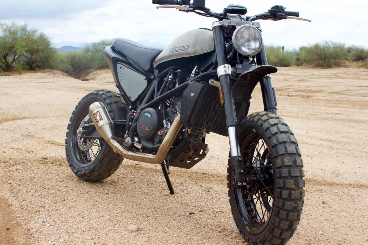 ktm 690 duke scramblers by droog moto concepts bikebound. Black Bedroom Furniture Sets. Home Design Ideas