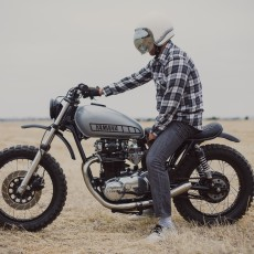 Yamaha XS650 Scrambler by Therapy Garage