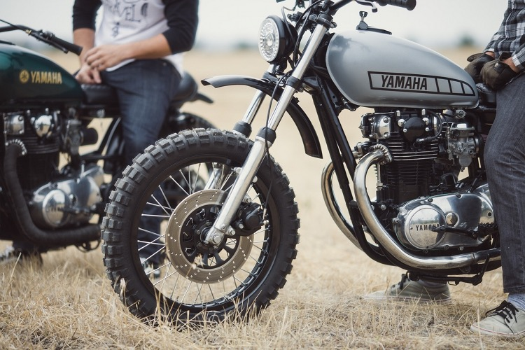 Yamaha Xs650 Scrambler By Therapy Garage Bikebound