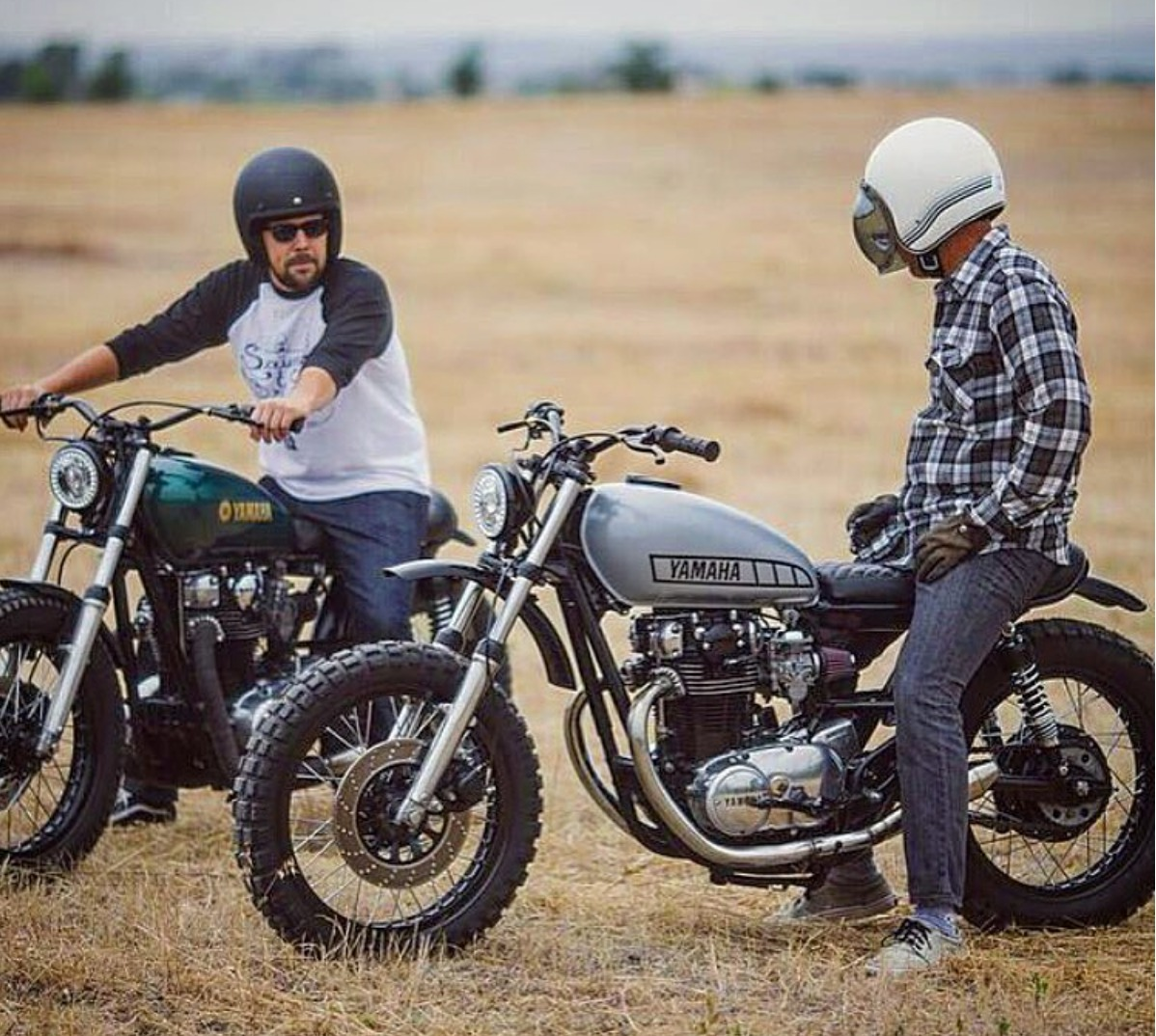 Yamaha Xs650 Scrambler By Therapy Garage Bikebound Bmw R80gs Wiring Diagram The Only Thing Better Than An Is Two Of Them