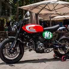 Custom Ducati Scrambler by XTR Pepo