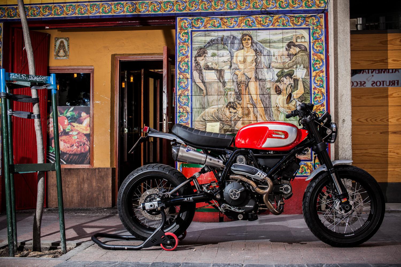 Custom Ducati Scrambler by XTR Pepo – BikeBound