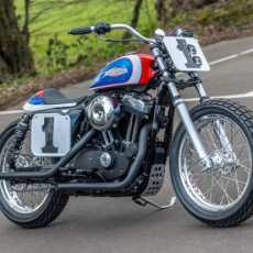 Mert Lawwill Street Tracker by Shaw Speed & Custom