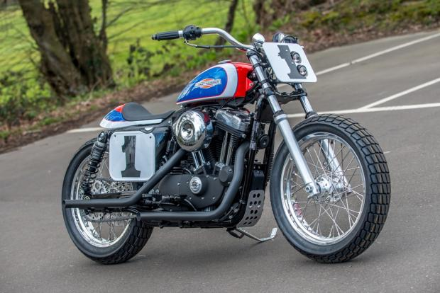 Harley Sportster Street Tracker For Sale