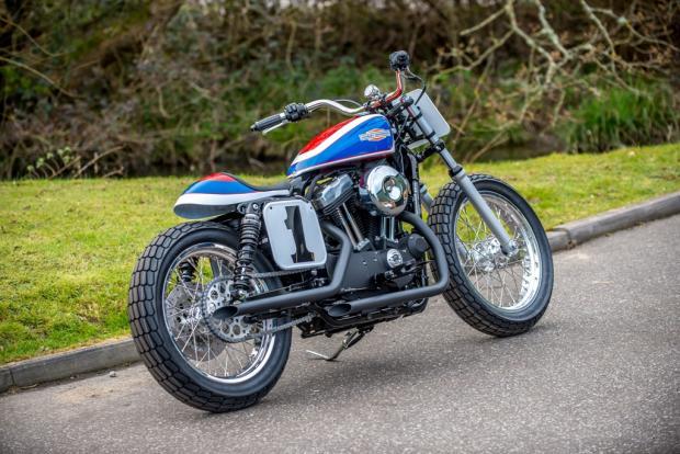 Harley Sportster 48 Tracker 6