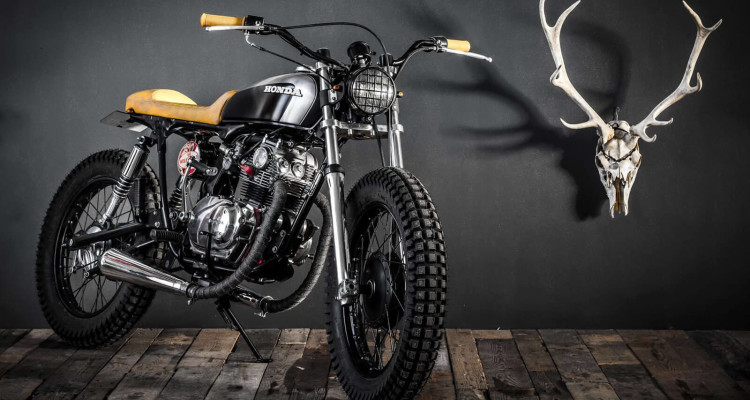 Honda CB125 Tracker by EdTurner Motorcycles