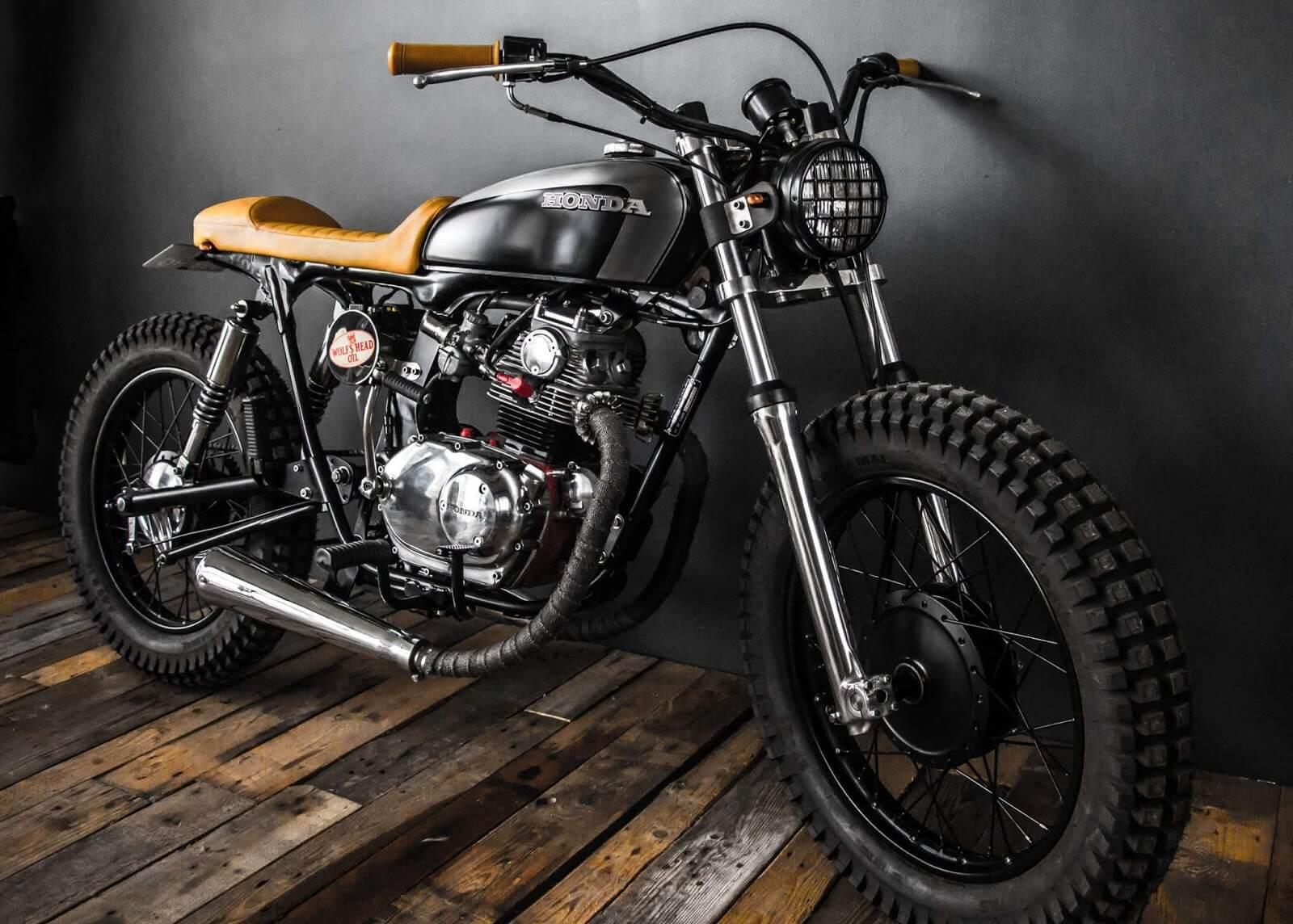 honda cb125 tracker by edturner motorcycles bikebound. Black Bedroom Furniture Sets. Home Design Ideas