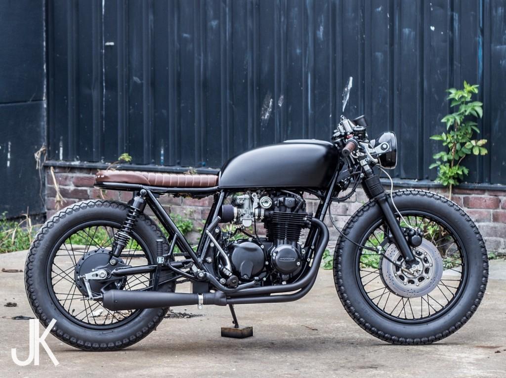 Honda CB550 Bratstyle