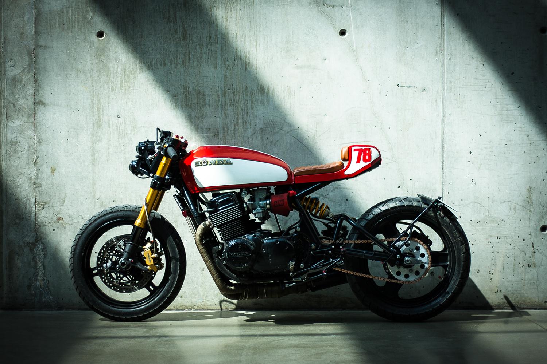 Honda CB750 Monoshock Cafe Racer