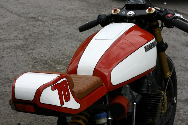 Monoshock Cb750 Cafe Racer By Andrew Wales Bikebound