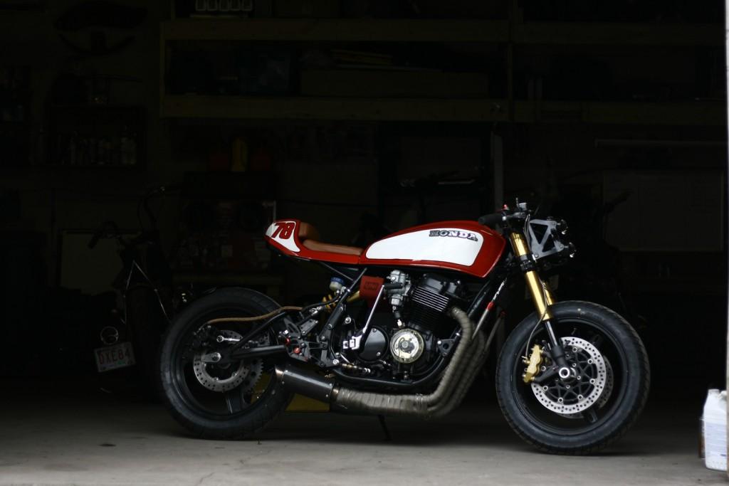 Honda CB750 Monoshock