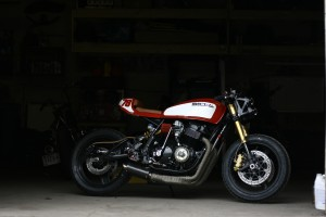 Honda Motorcycles Calgary >> Monoshock CB750 Cafe Racer by Andrew Wales – BikeBound