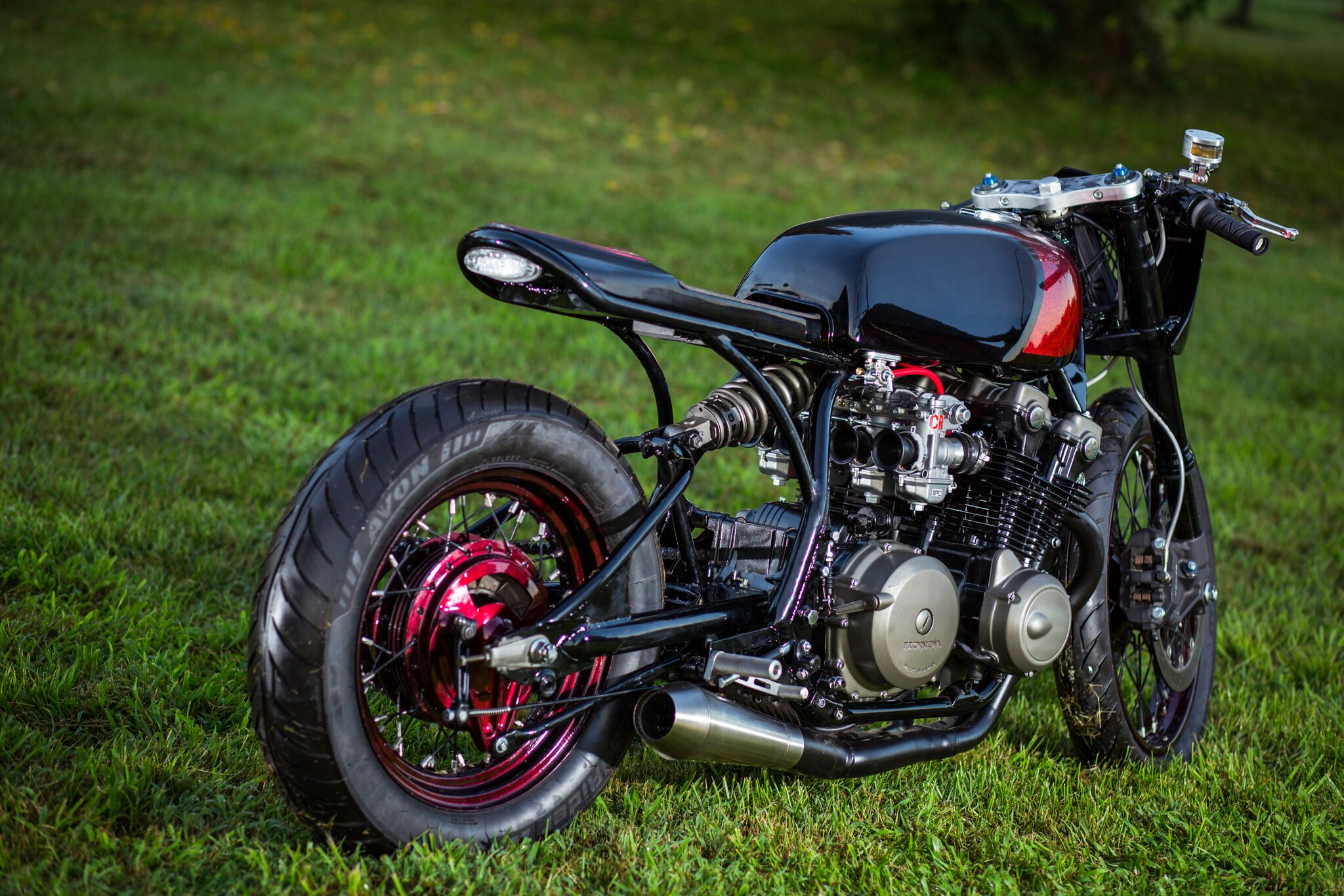 Watching Cafe Racer TV And Before Long He Had Converted His Garage Into A Shop Started Legion Cycle Works With This 1979 CB750 Limited Edition
