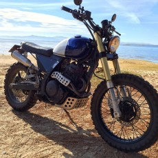 Honda NX650 Scrambler by Mutant Motorcycles