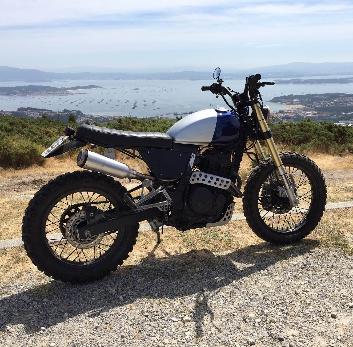 Honda Nx650 Scrambler By Mutant Motorcycles Bikebound