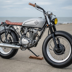 Honda TMX 155 Brat by Revolt Cycles