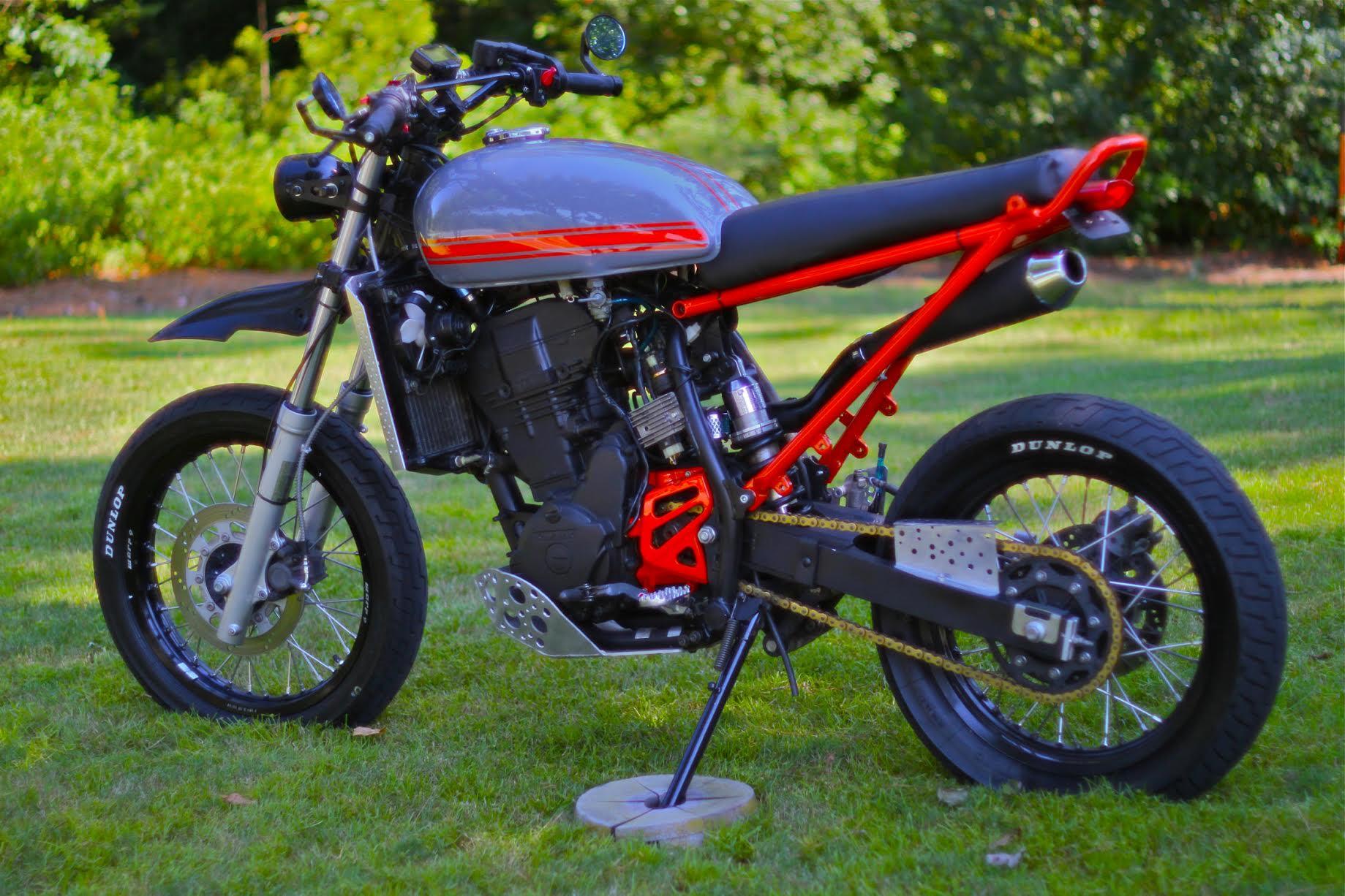 Kawasaki Klr650 Tracker By Magnum Opus Bikebound