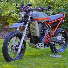 Kawasaki KLR650 Tracker by Magnum Opus