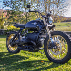 BMW R100 Tracker by Garage Sheriff