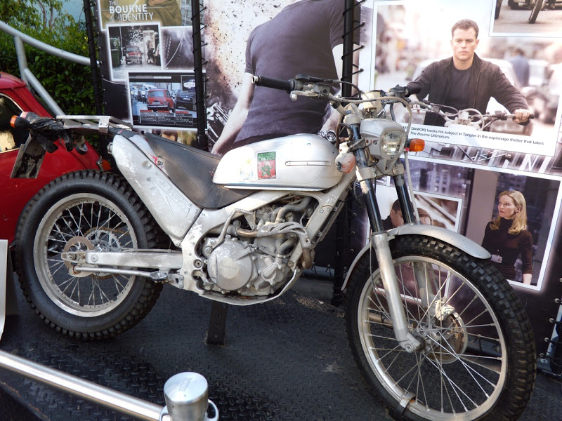 Bourne Ultimatum Motorcycle