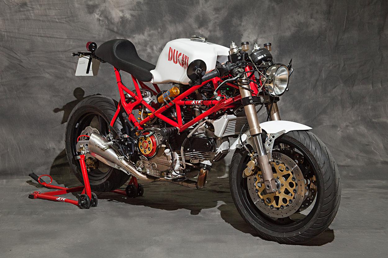 Ducati Monster 821 >> Ducati Monster Cafe Racer by XTR Pepo – BikeBound