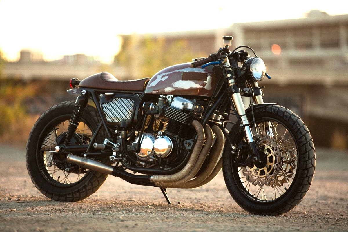 Assez The 750: CB750 Cafe Racer by Strapped MFG – BikeBound TD57