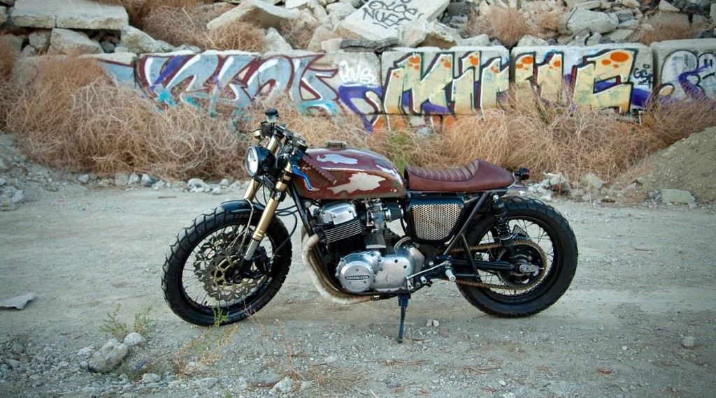 The 750: CB750 Cafe Racer by Strapped MFG – BikeBound