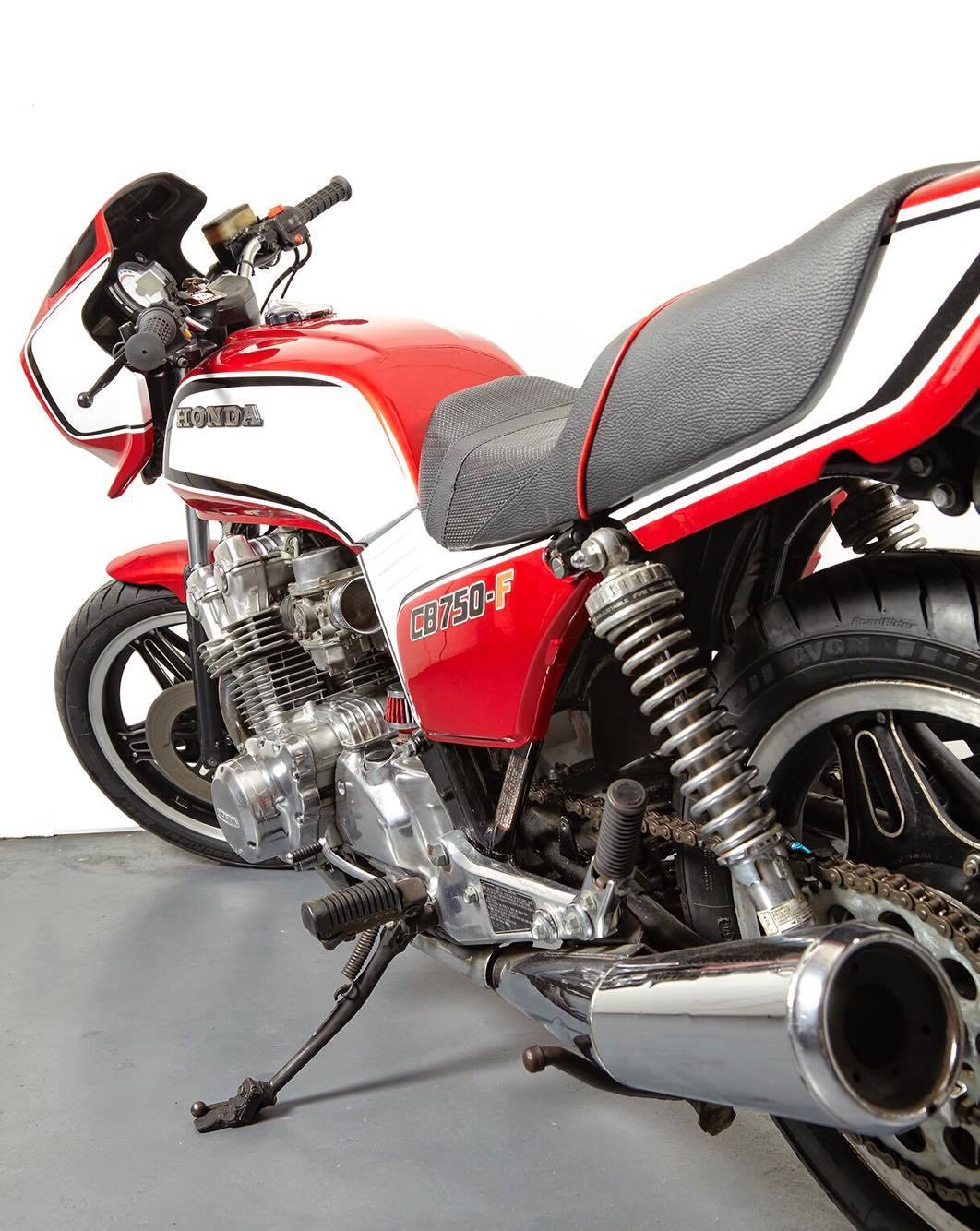 Honda Cb750f Street Racer By Vintage Iron Club Bikebound 1975