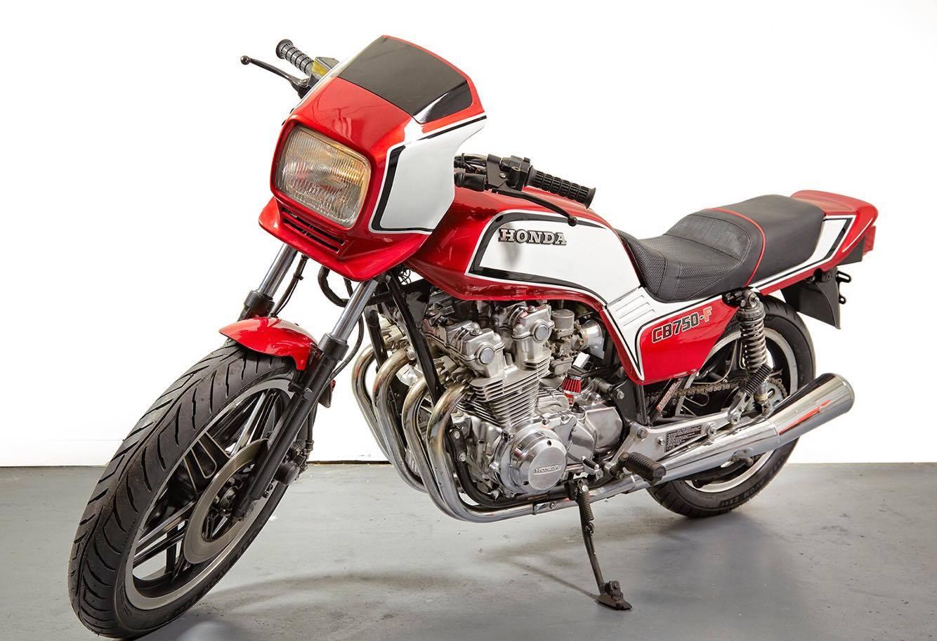 "Honda CB750F ""Street Racer"" by Vintage Iron Club"