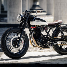 Honda FT500 Tracker by Jordan Froidmont