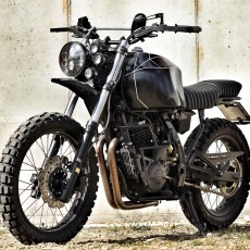 Honda NX650 Adventure Tracker by Tobias Mayr