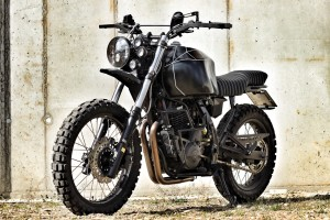 Honda NX650 Adventure Tracker