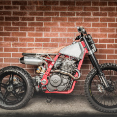 """Death Crusher"" NX650 Supermoto / Tracker"