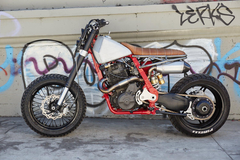 death crusher nx650 supermoto tracker bikebound. Black Bedroom Furniture Sets. Home Design Ideas